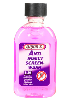 ANTI-INSECT SCREEN-WASH